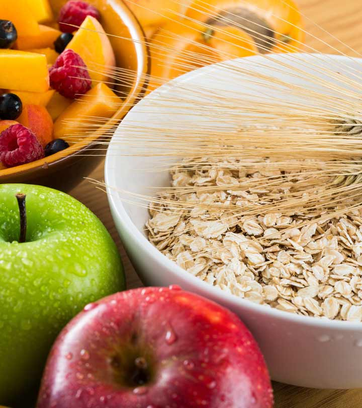 fiber slows the absorption of sugar